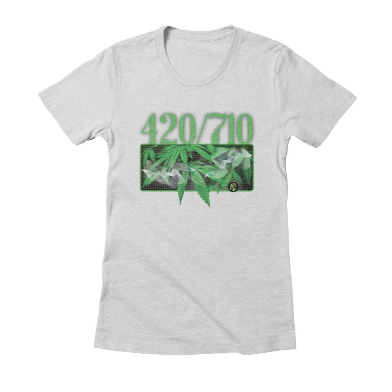 420/710 Women's Fitted T-Shirt by The SeshHeadz's Artist Shop
