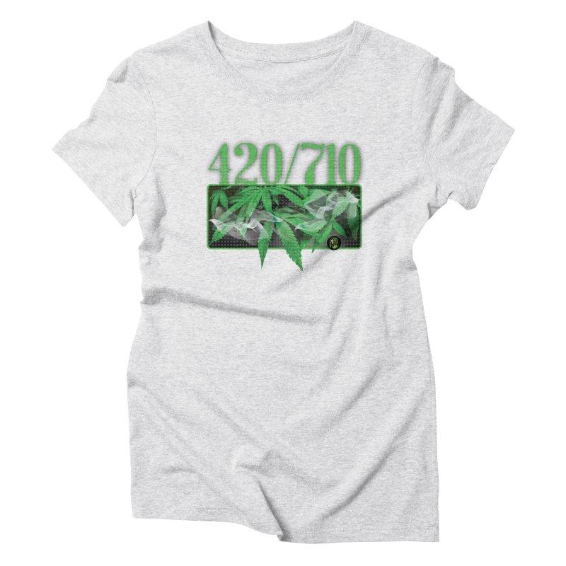 420/710 Women's Triblend T-Shirt by The SeshHeadz's Artist Shop