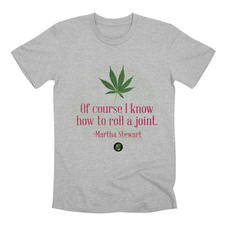 Roll a joint Marth (2) Men's Premium T-Shirt by The SeshHeadz's Artist Shop