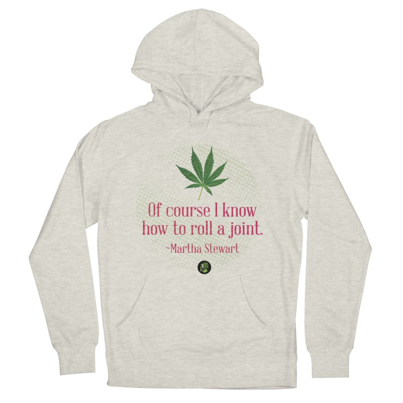 Roll a joint Marth (2) Men's French Terry Pullover Hoody by The SeshHeadz's Artist Shop