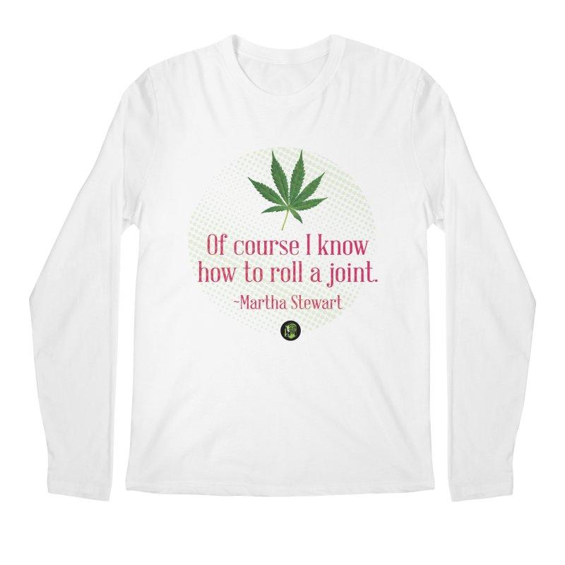 Roll a joint Marth (2) Men's Regular Longsleeve T-Shirt by The SeshHeadz's Artist Shop