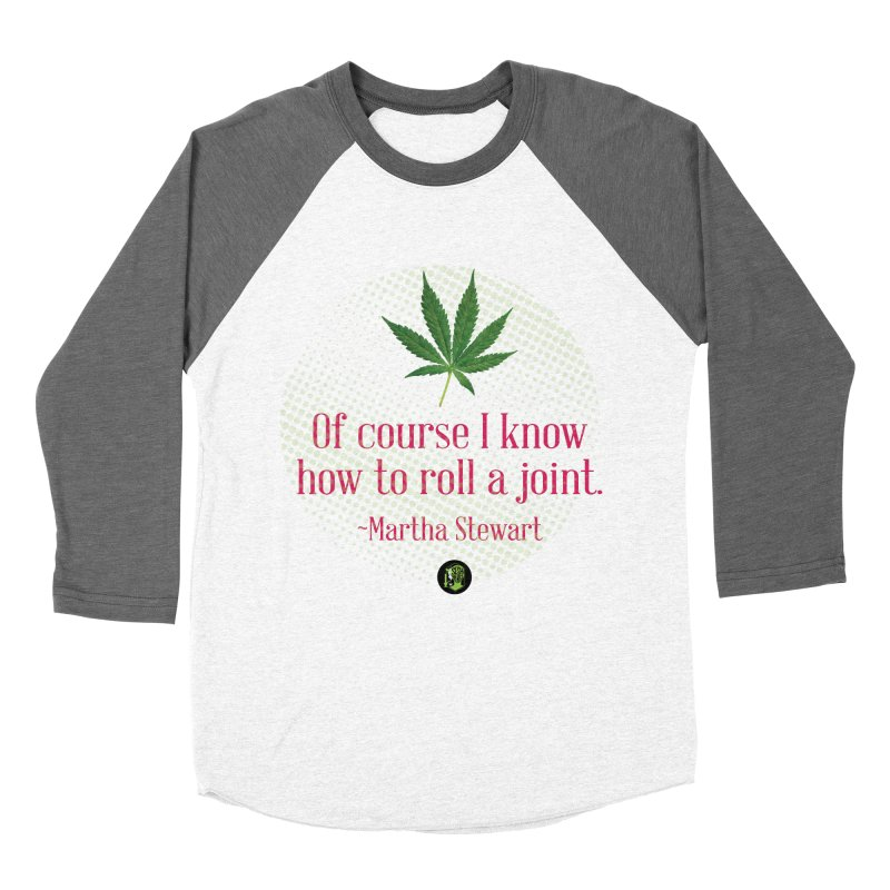 Roll a joint Marth (2) Men's Baseball Triblend Longsleeve T-Shirt by The SeshHeadz's Artist Shop