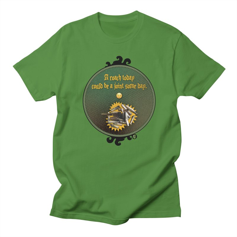 A roach today, could be a joint some day. Men's Regular T-Shirt by The SeshHeadz's Artist Shop