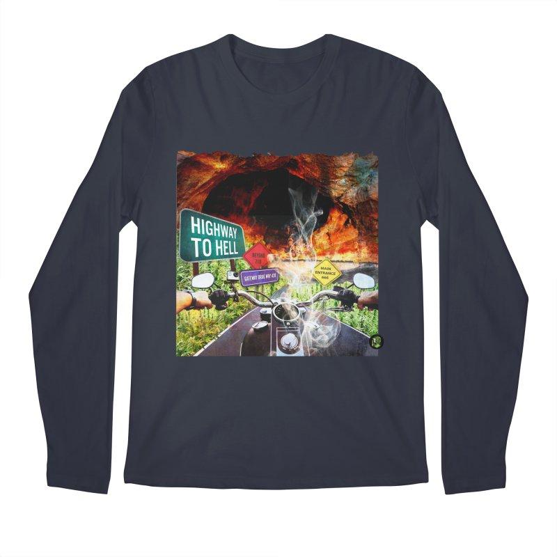 Highway to HELL Men's Regular Longsleeve T-Shirt by The SeshHeadz's Artist Shop