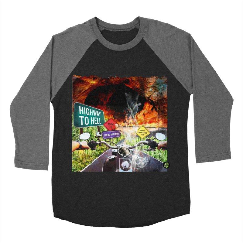 Highway to HELL Women's Baseball Triblend Longsleeve T-Shirt by The SeshHeadz's Artist Shop