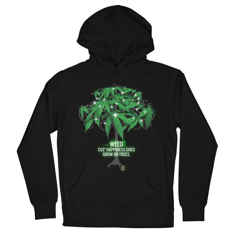 Cuz Happiness does grow on trees. Men's French Terry Pullover Hoody by The SeshHeadz's Artist Shop
