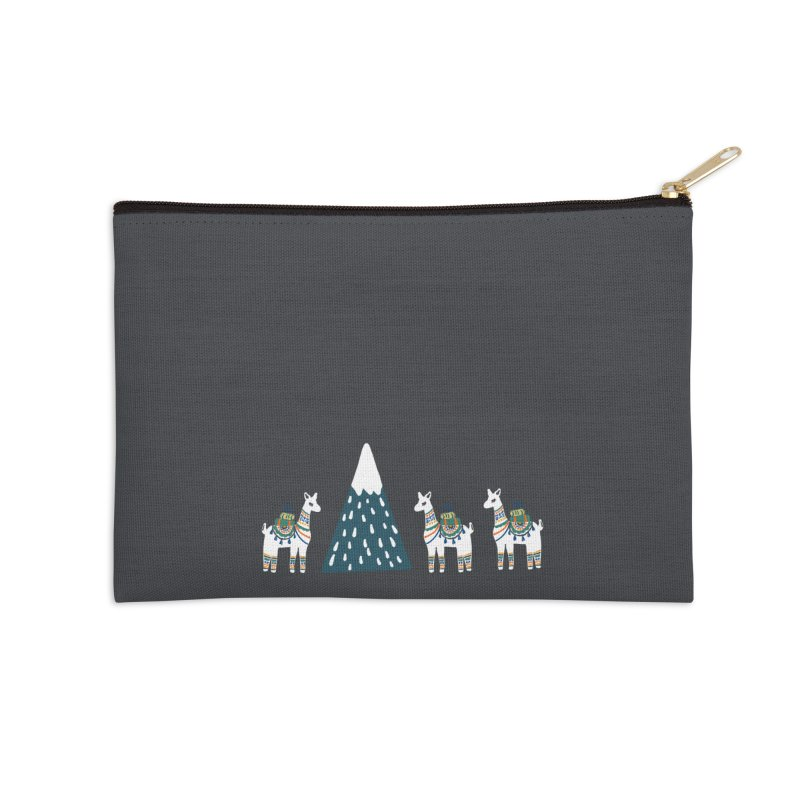 Head to the hills Accessories Zip Pouch by TheSlumberingForest's Artist Shop