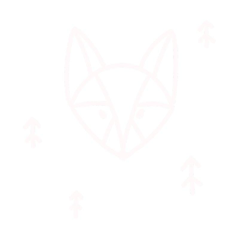 Geometric Fox Men's T-Shirt by TheSlumberingForest's Artist Shop