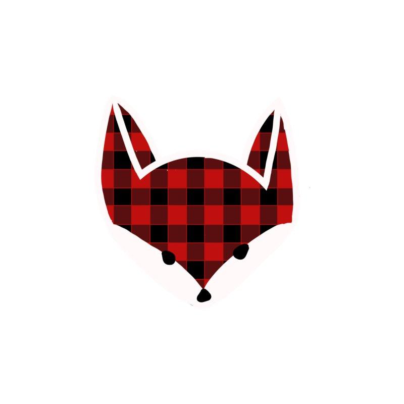 Lumberjack Fox Men's T-Shirt by TheSlumberingForest's Artist Shop