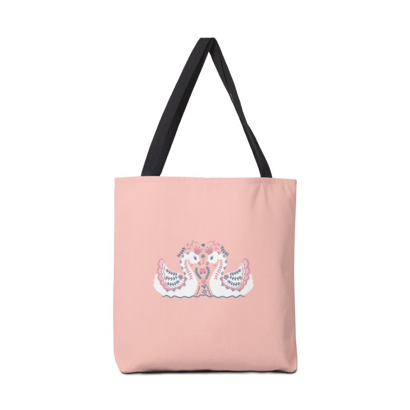 Swan Princess Accessories Bag by TheSlumberingForest's Artist Shop