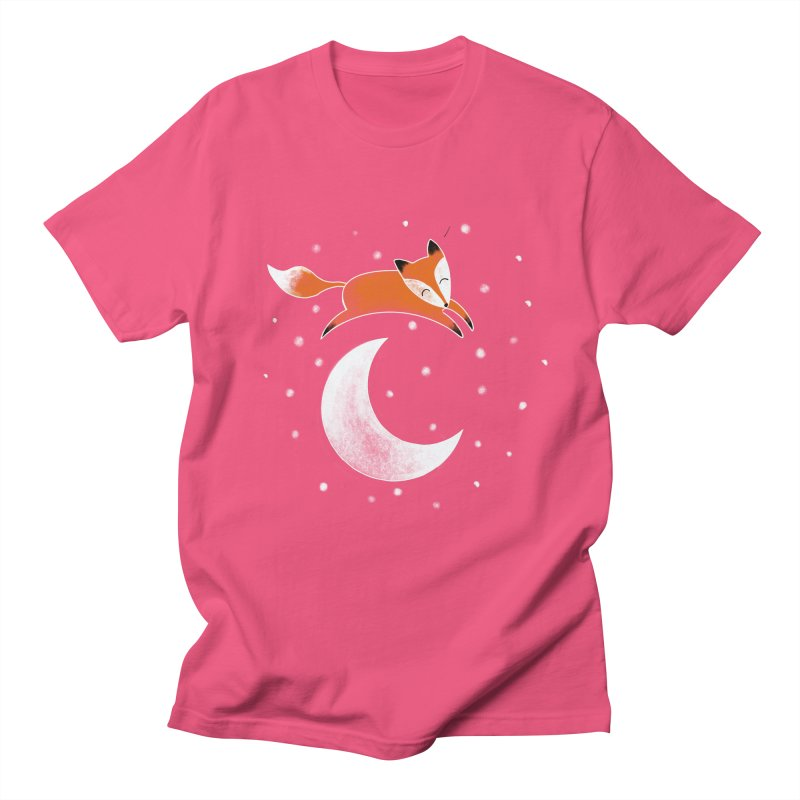 Over the moon Men's T-Shirt by TheSlumberingForest's Artist Shop
