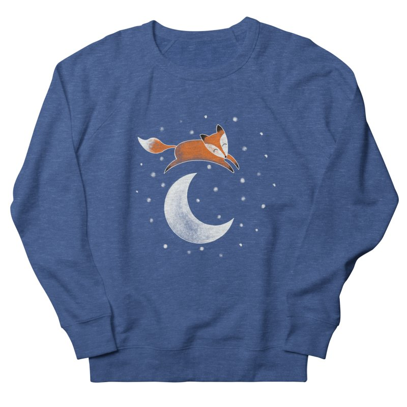 Over the moon Men's Sweatshirt by TheSlumberingForest's Artist Shop