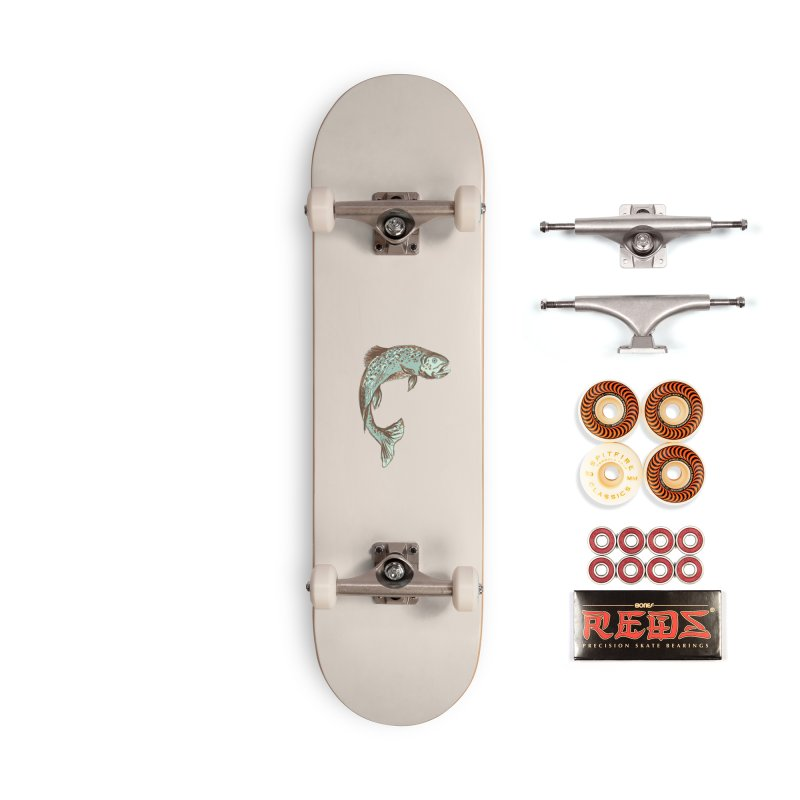 Trout Accessories Skateboard by TheSlumberingForest's Artist Shop