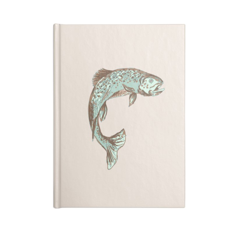 Trout Accessories Notebook by TheSlumberingForest's Artist Shop
