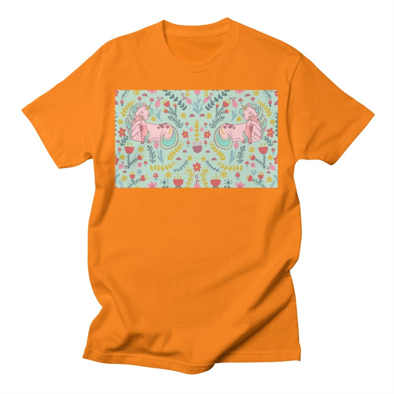 Motherhood is Magical in mint Men's T-Shirt by TheSlumberingForest's Artist Shop