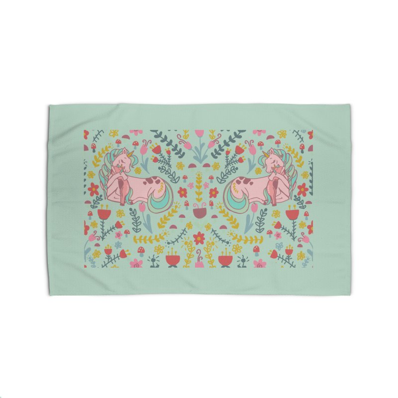 Motherhood is Magical in mint Home Rug by TheSlumberingForest's Artist Shop