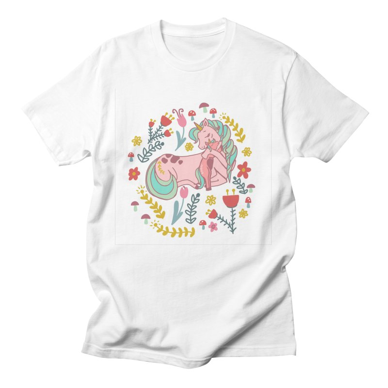 Motherly Love Men's T-Shirt by TheSlumberingForest's Artist Shop