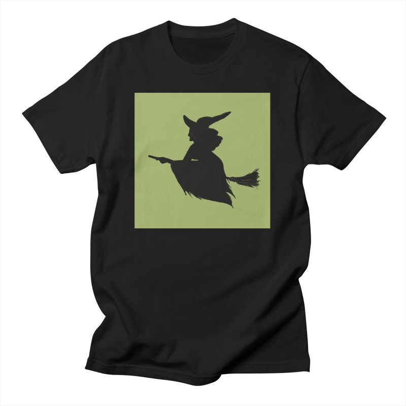 Flying Witch Men's T-Shirt by TheSlumberingForest's Artist Shop