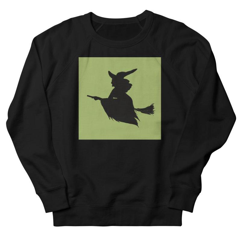 Flying Witch Men's Sweatshirt by TheSlumberingForest's Artist Shop