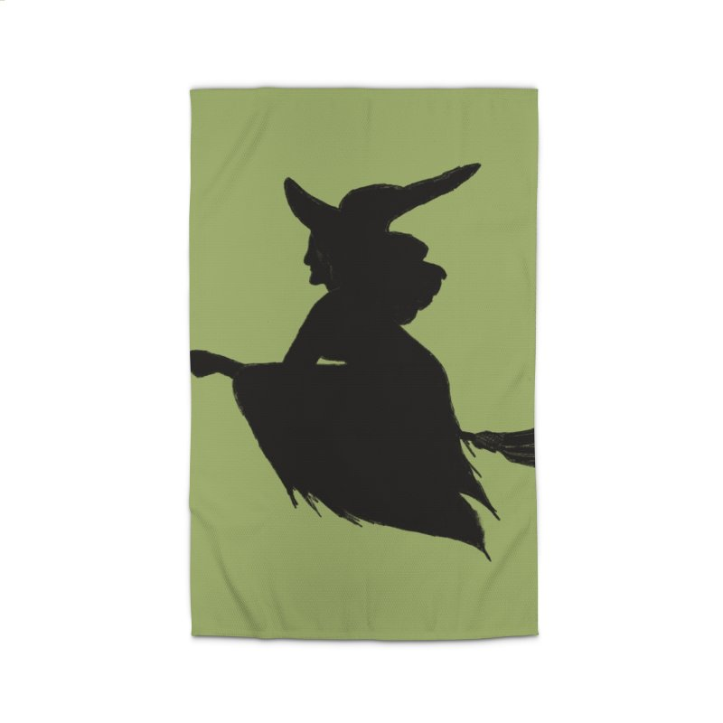 Flying Witch Home Rug by TheSlumberingForest's Artist Shop