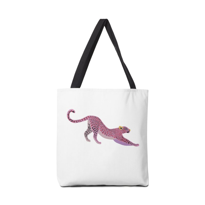 Leopard Stretching Accessories Bag by TheSlumberingForest's Artist Shop