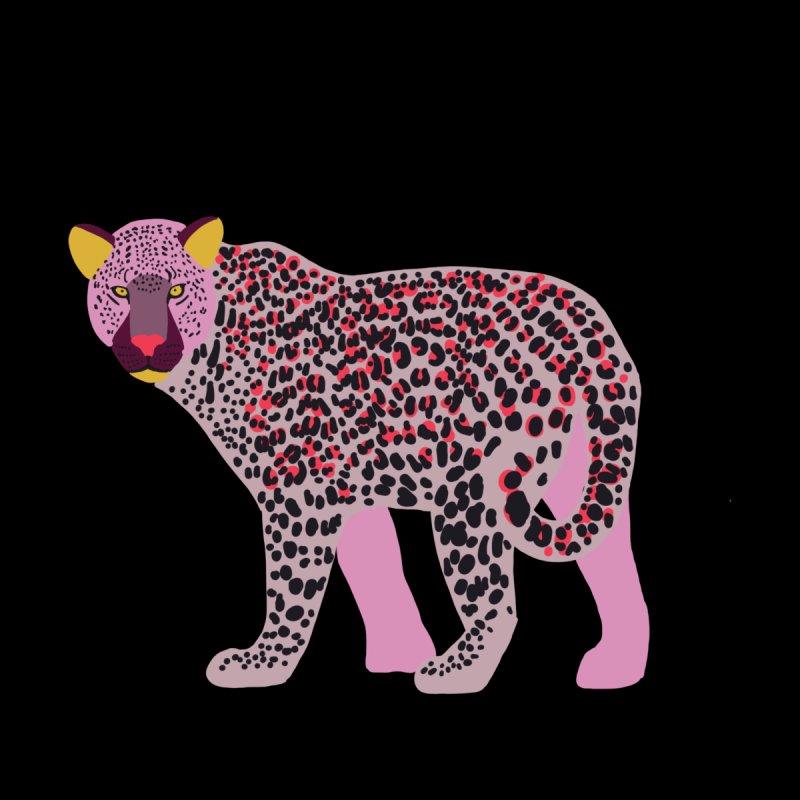 Pink Leopard Home Blanket by TheSlumberingForest's Artist Shop