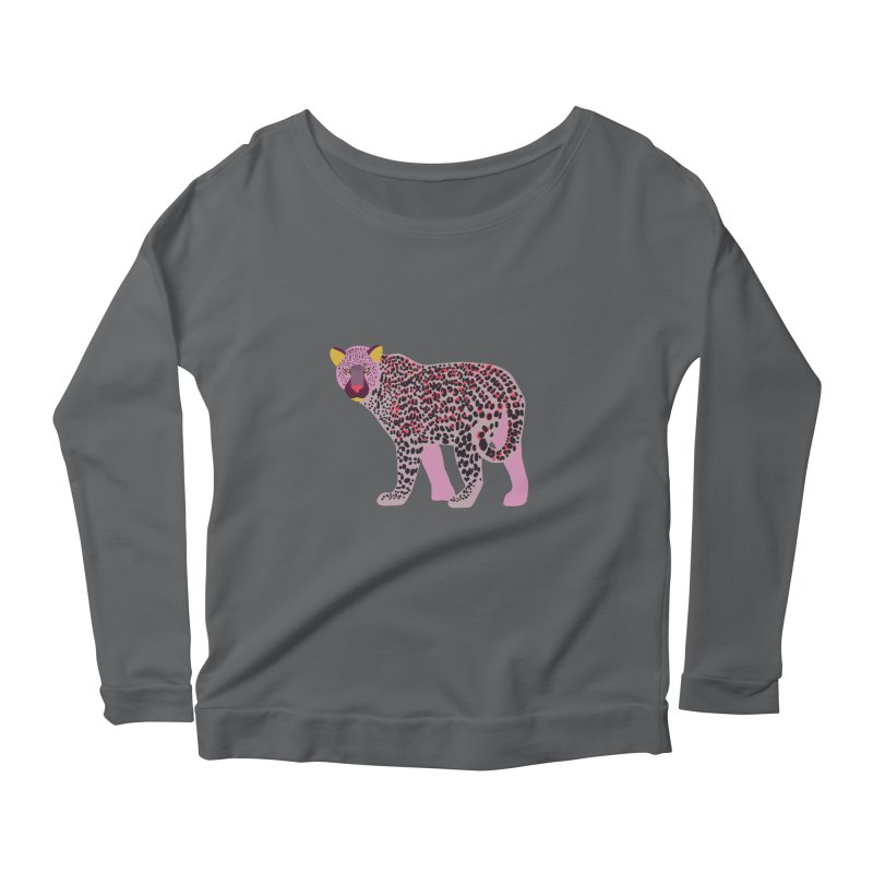 Pink Leopard Women's Longsleeve T-Shirt by TheSlumberingForest's Artist Shop