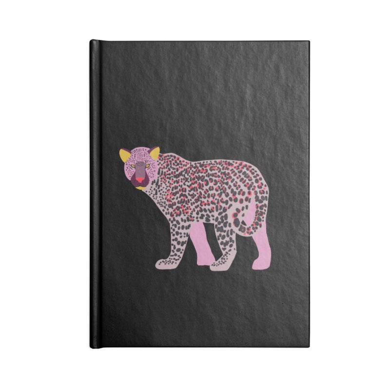 Pink Leopard Accessories Notebook by TheSlumberingForest's Artist Shop