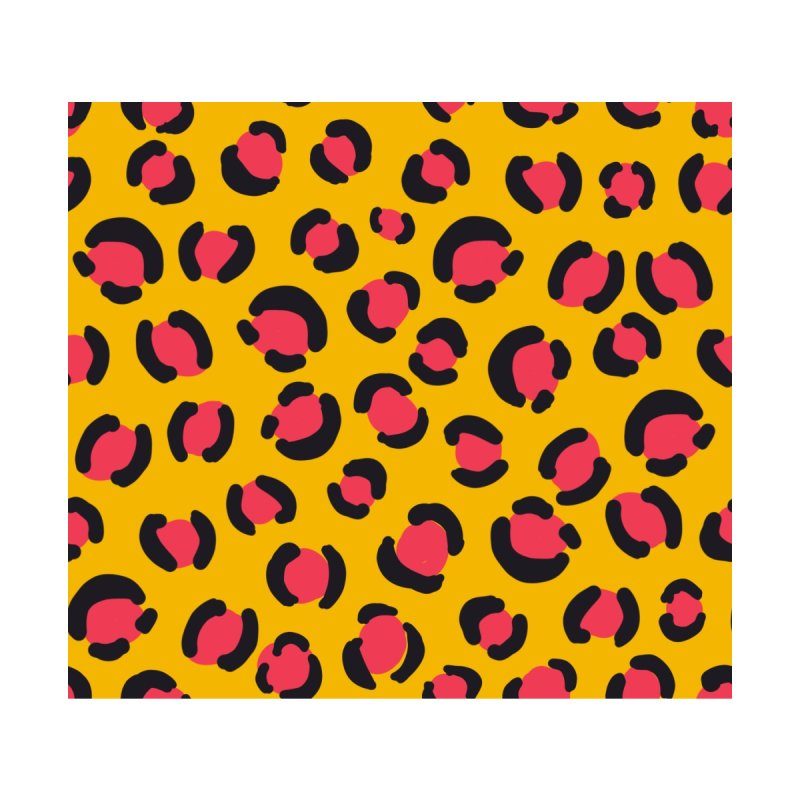 Yellow Leopard Print Women's Tank by TheSlumberingForest's Artist Shop