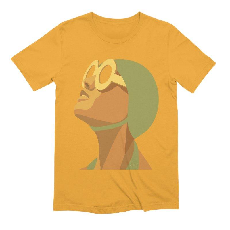 Susan Holloway's Sunbather - Yellow Men's T-Shirt by The Susan Holloway Artist Shop