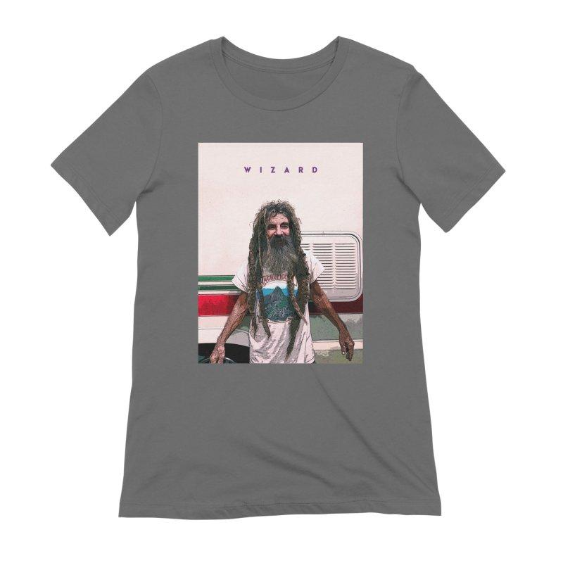 Rad Wizard Women's T-Shirt by TheWizardWardrobe's Artist Shop