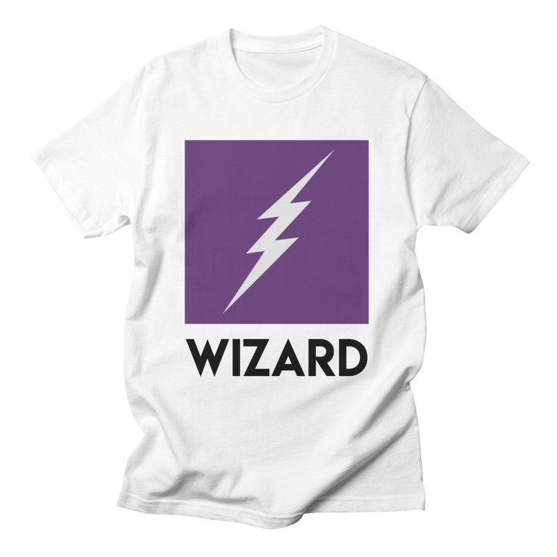 Wizard Multimedia Logo Men's T-Shirt by TheWizardWardrobe's Artist Shop