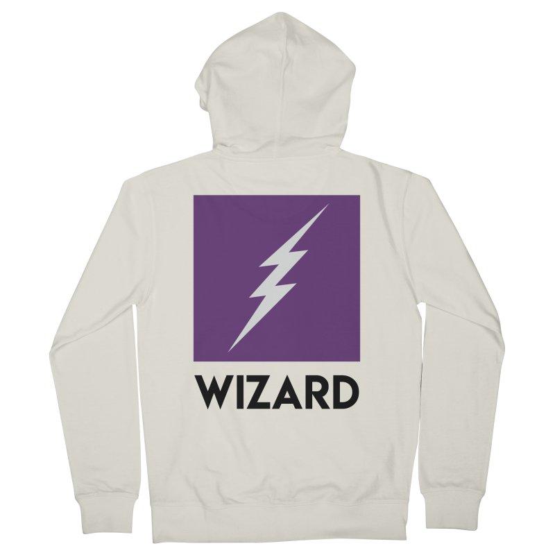 Wizard Multimedia Logo Women's Zip-Up Hoody by TheWizardWardrobe's Artist Shop