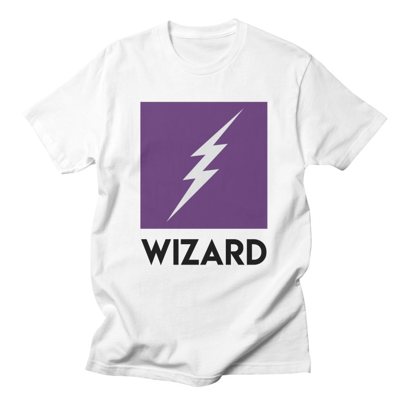 Wizard Multimedia Logo Men's T-Shirt by TheWizardWardrobe's Artist Shop