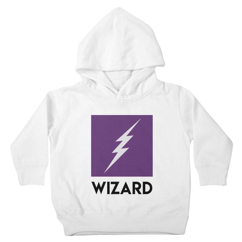Wizard Multimedia Logo Kids Toddler Pullover Hoody by TheWizardWardrobe's Artist Shop