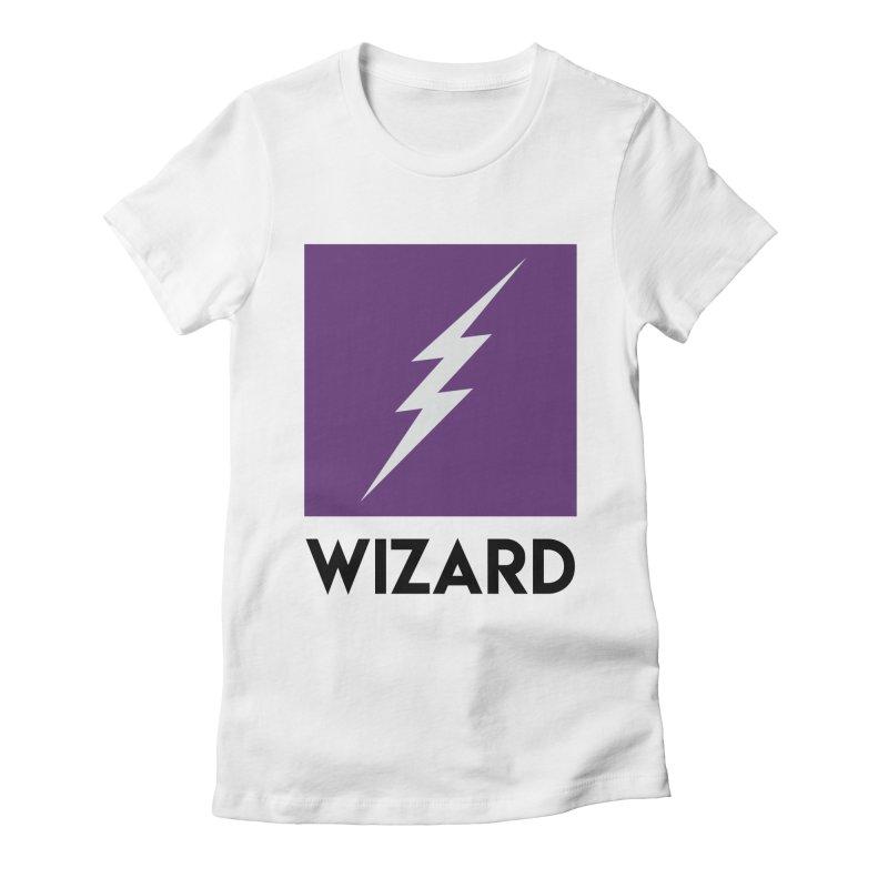 Wizard Multimedia Logo Women's T-Shirt by TheWizardWardrobe's Artist Shop
