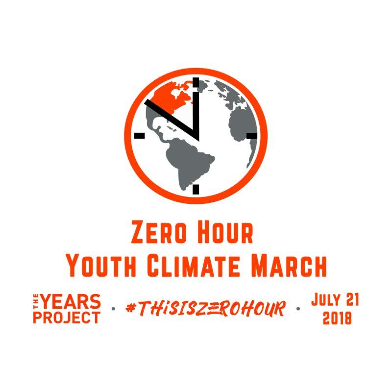 Zero Hour - Youth Climate March Bags by The Years Project