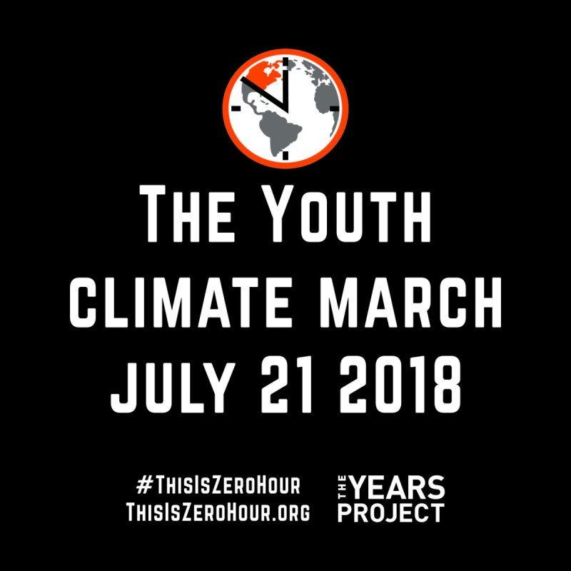 Zero Hour - Youth Climate March by TheYearsProject's Artist Shop