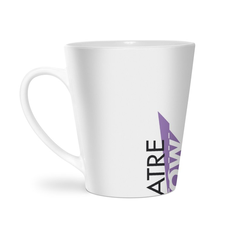 Theatre Now- Purple Accessories Latte Mug by TheatreNow's Artist Shop