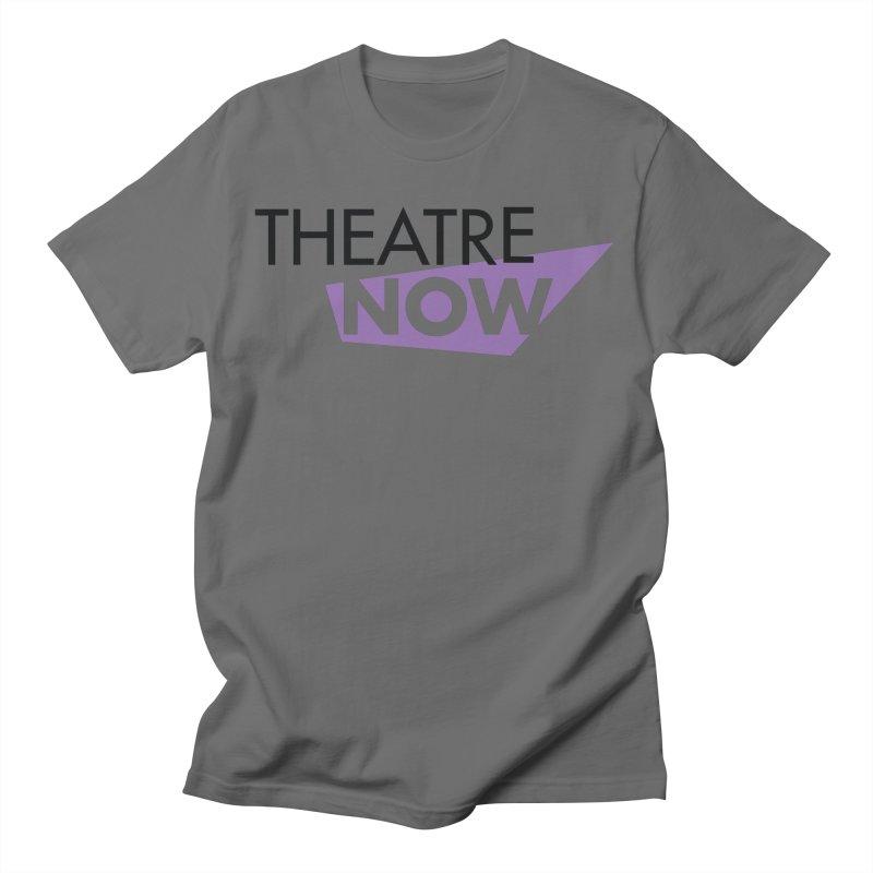 Theatre Now- Purple Men's T-Shirt by TheatreNow's Artist Shop