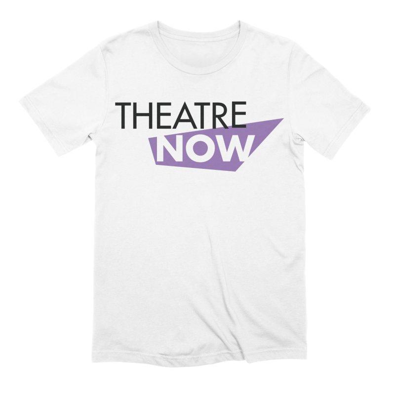 Theatre Now- Purple Men's Extra Soft T-Shirt by TheatreNow's Artist Shop