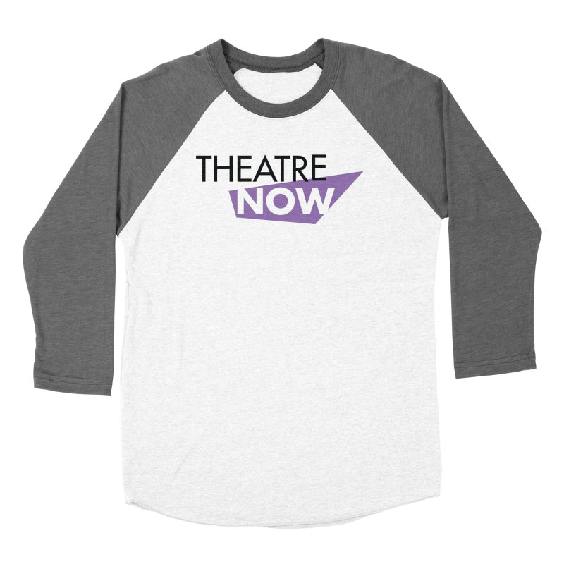 Theatre Now- Purple Men's Baseball Triblend Longsleeve T-Shirt by TheatreNow's Artist Shop