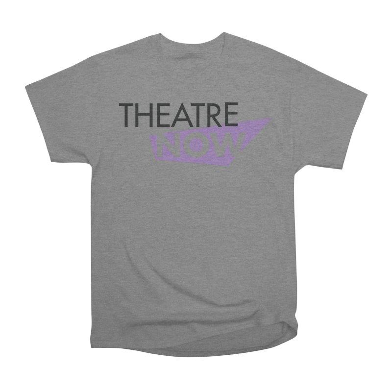 Theatre Now- Purple Men's Heavyweight T-Shirt by TheatreNow's Artist Shop