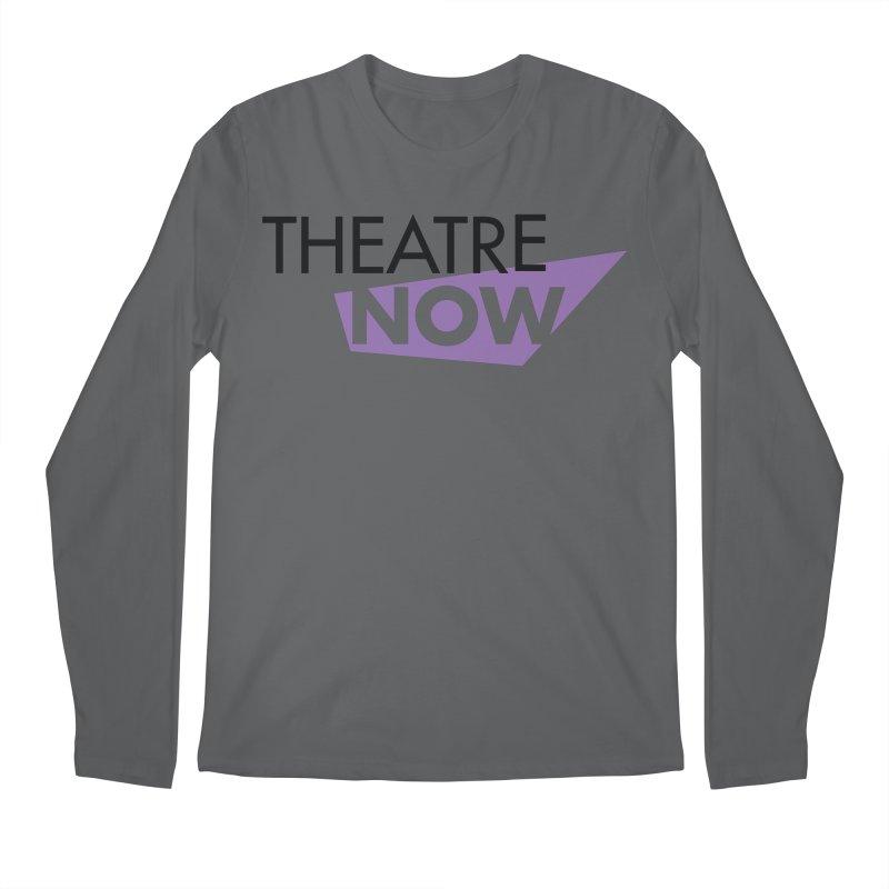 Theatre Now- Purple Men's Longsleeve T-Shirt by TheatreNow's Artist Shop