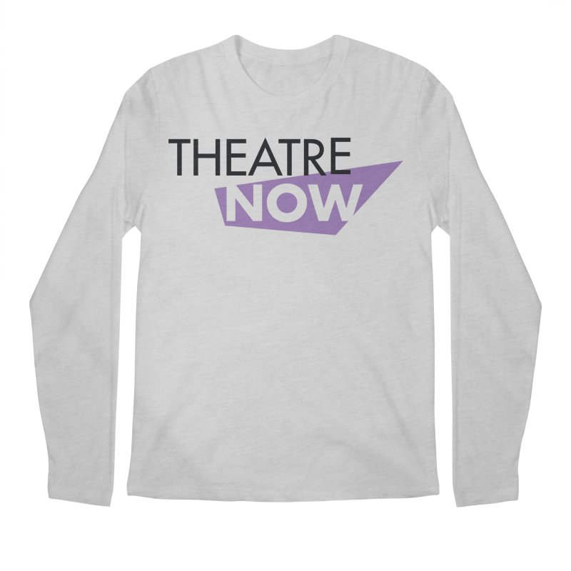 Theatre Now- Purple Men's Regular Longsleeve T-Shirt by TheatreNow's Artist Shop