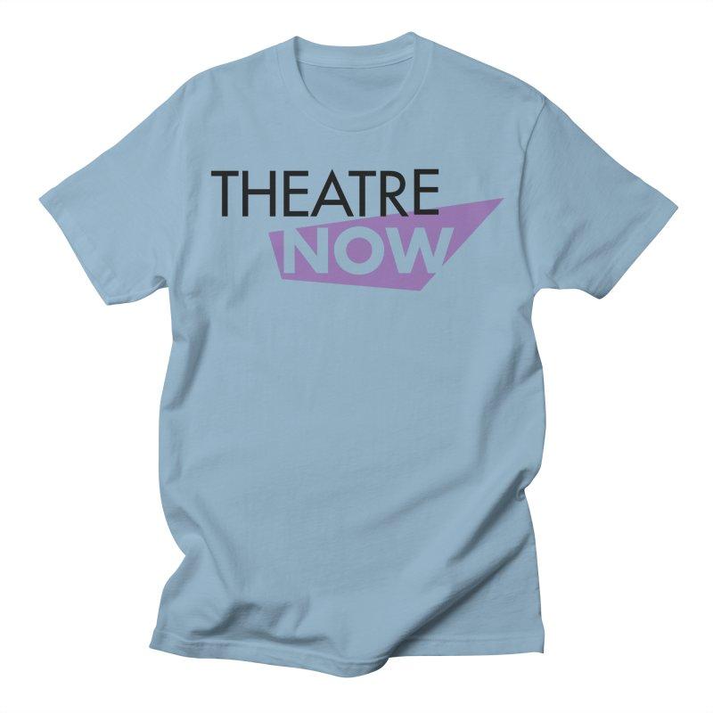 Theatre Now- Purple Men's Regular T-Shirt by TheatreNow's Artist Shop