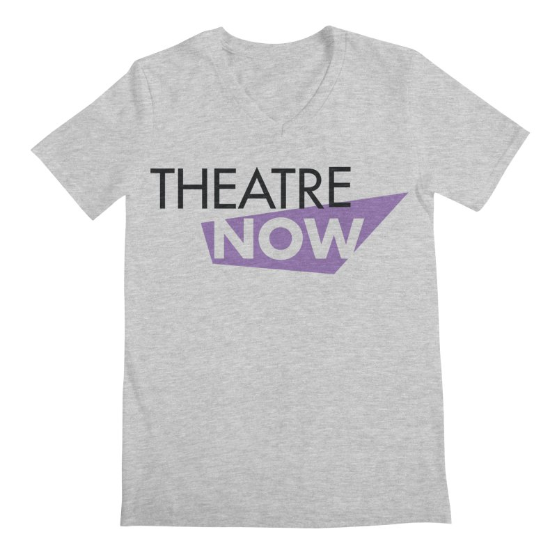 Theatre Now- Purple Men's Regular V-Neck by TheatreNow's Artist Shop