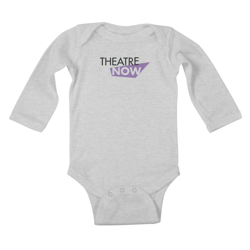 Theatre Now- Purple Kids Baby Longsleeve Bodysuit by TheatreNow's Artist Shop