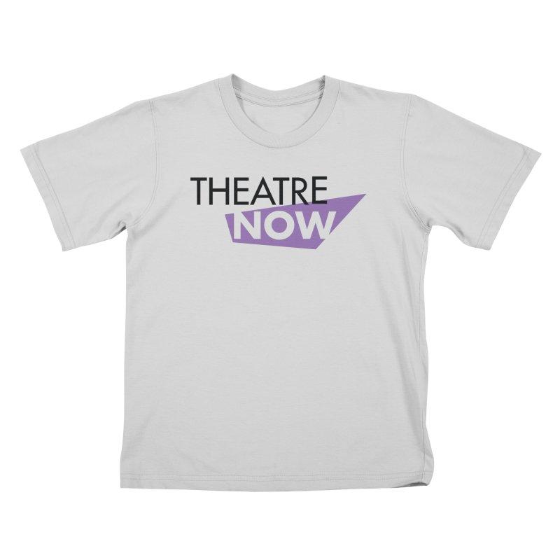 Theatre Now- Purple Kids T-Shirt by TheatreNow's Artist Shop