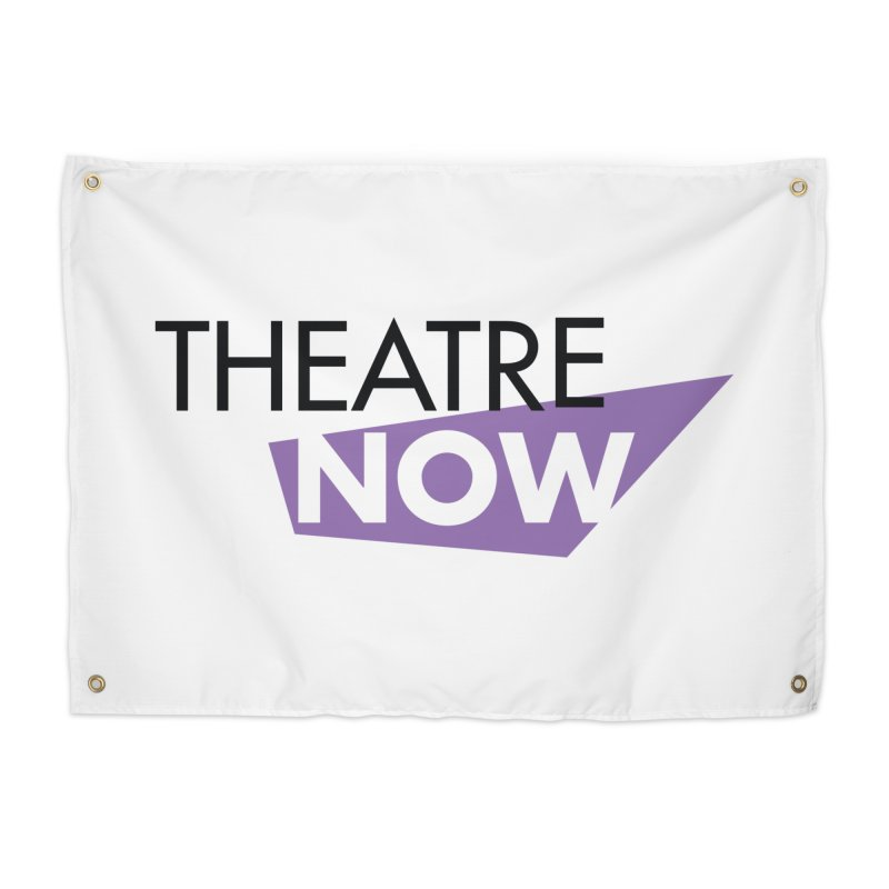 Theatre Now- Purple Home Tapestry by TheatreNow's Artist Shop